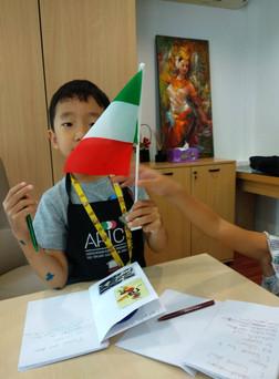 Italian kids art camp Singapore