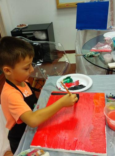 Kids art in Singapore