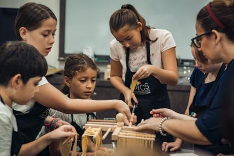 Fun pasta lab for kids in Singapore