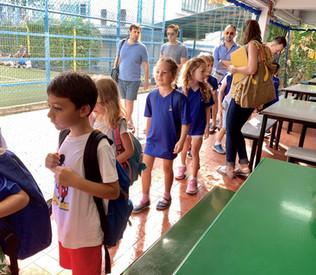 Happy kids at Italian school Singapore