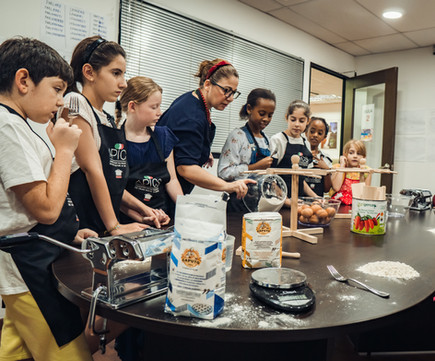 Italian pasta lab for kids Singapore