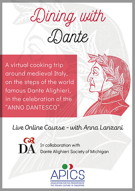 Dining with Dante online live course