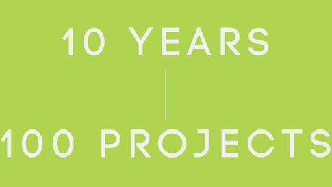 Web Earth Milestone: 10 Years and 100 Projects