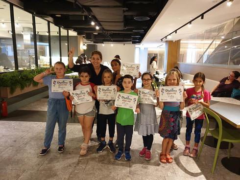 APICS kids cooking camp Singapore