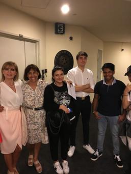 Students visit Italian Embassy Singapore
