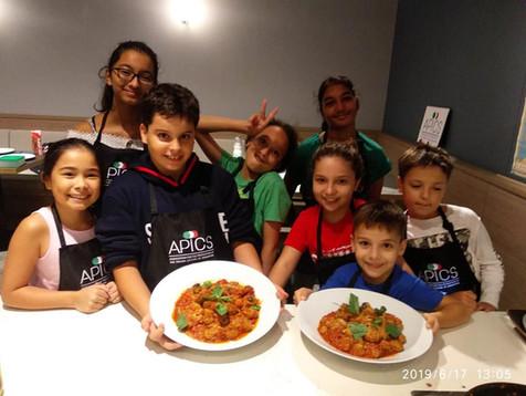Kids cooking camp Singapore