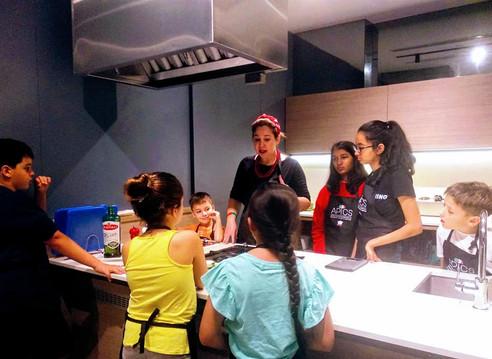Italian kids cooking camp Singapore