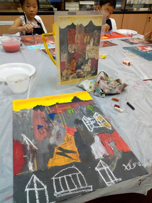 Learning art in Singapore