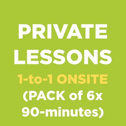 Private Lessons (1-to-1 ONSITE)