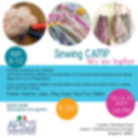 Sewing Camp for kids Singapore