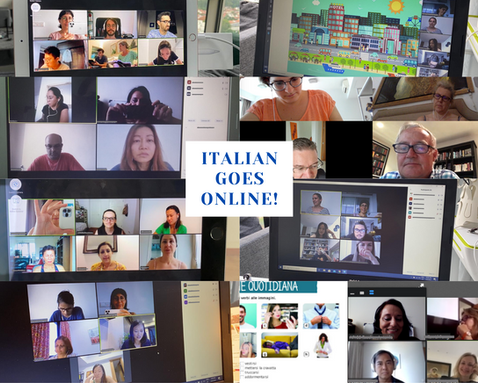 Italian language class online