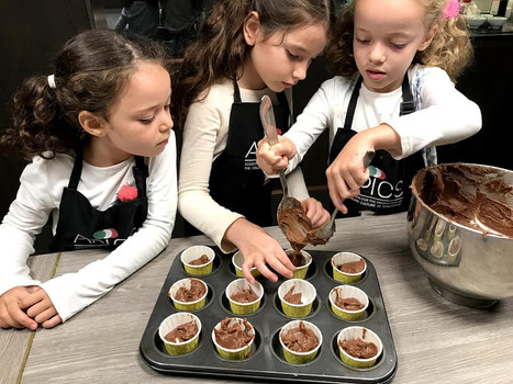 Kids cooking camp in Singapore