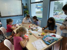 Sewing workshop kids Singapore