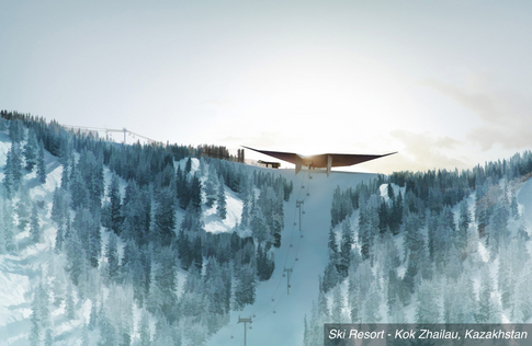 Web Structures aims for 'piste perfection' with designs for ambitious ski resort