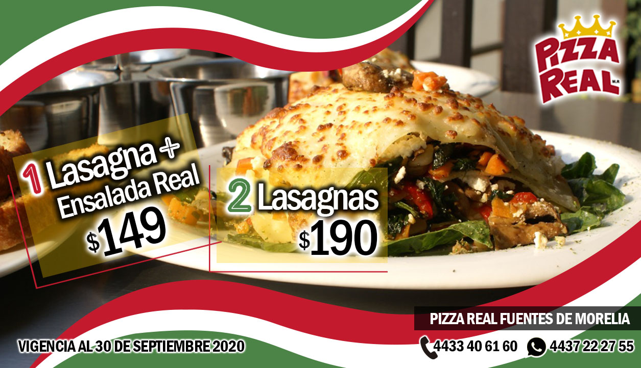 2 Lasagnas
