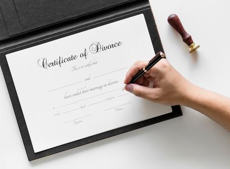 FAQ's: Filing For Divorce