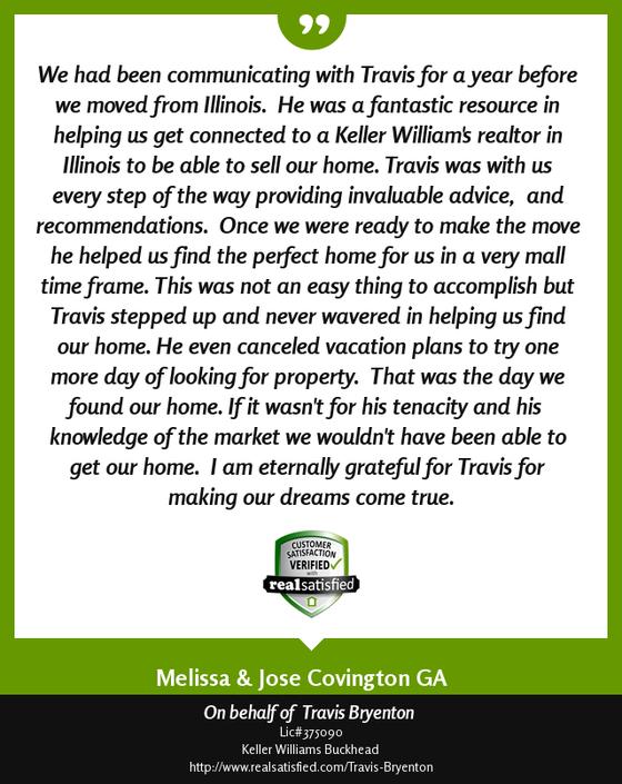 Testimonial From Melissa P.