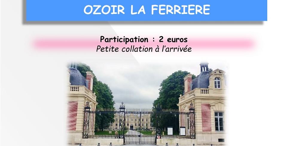 Brevet 25 km OZOIR LA FERRIERE