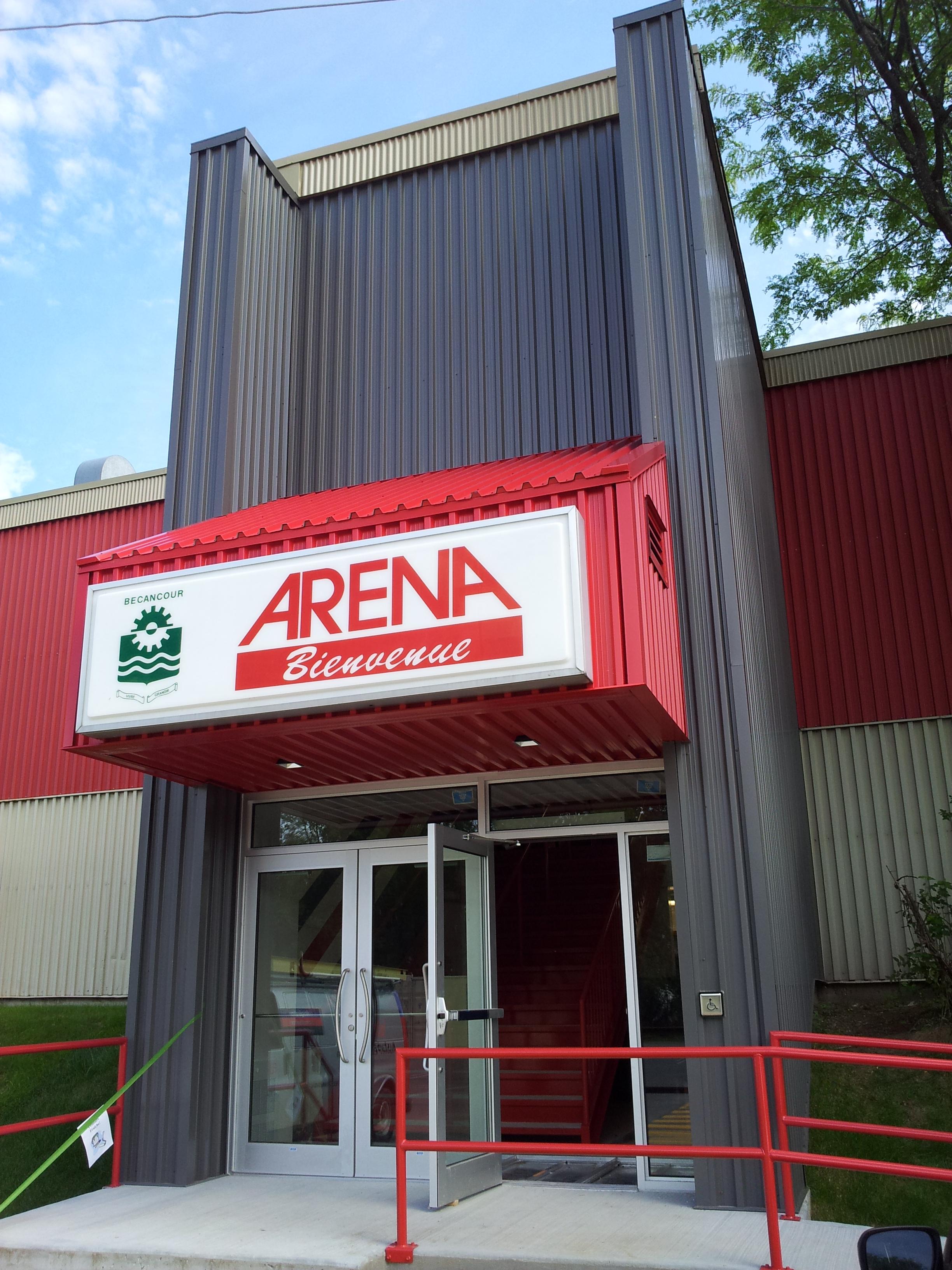Aréna Bécancour - Revêtement Métallique