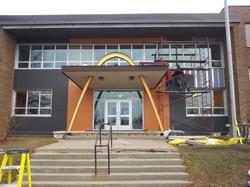 École Saint-Joseph Shawinigan - Panneaux Fibro-Ciment Nichiha