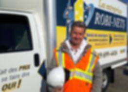 Robi-nets camion Pierre Brodeur