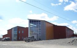 Centre Communautaire Waswanipi - Déclin & Panneaux Fibro-ciment