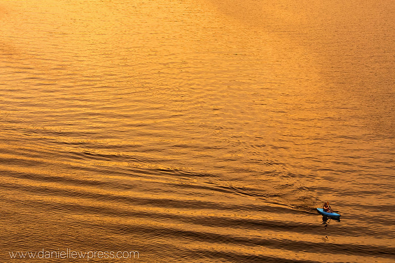 Gold with Kayak danipress photography da