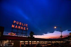 Market Sunset