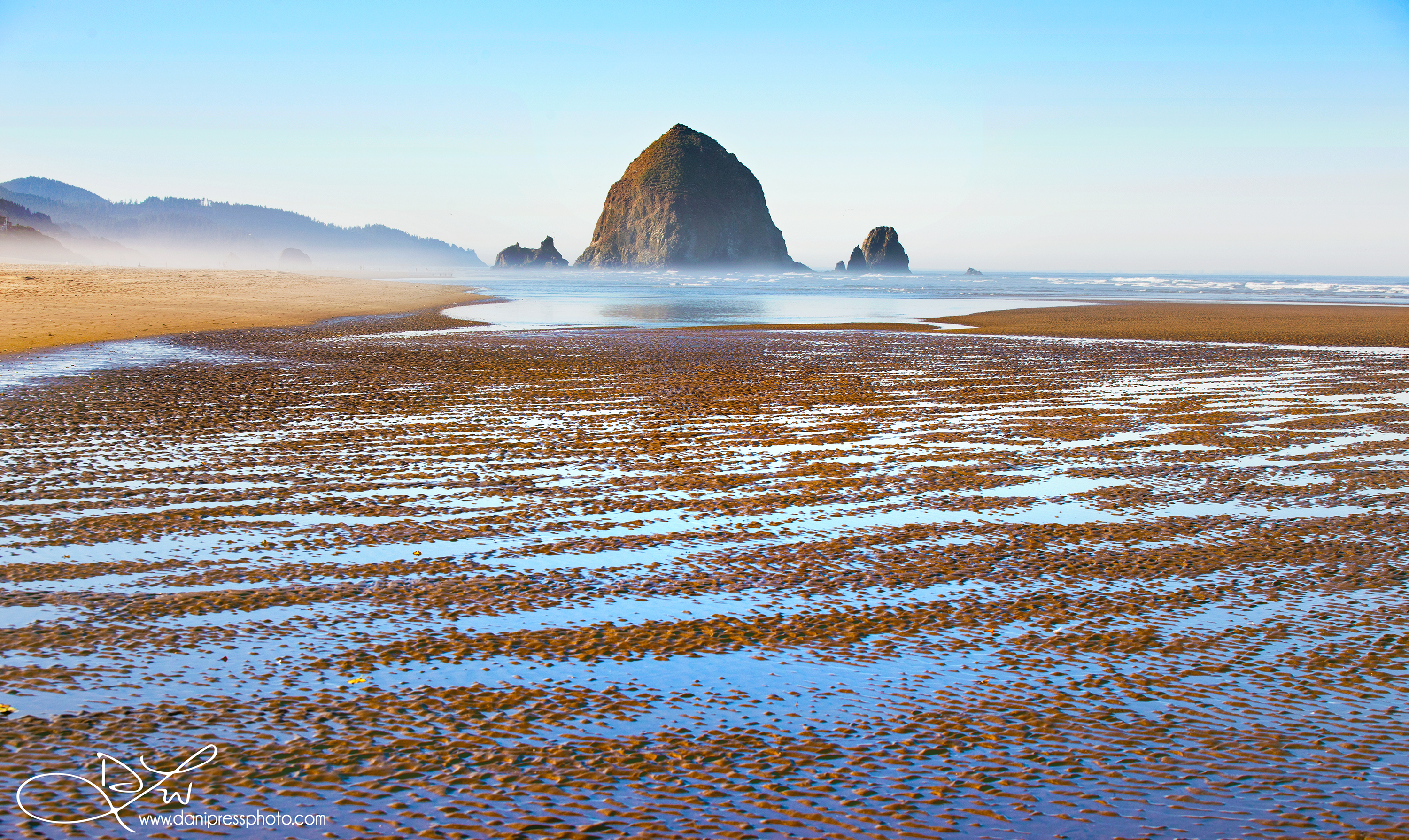 Haystack on the Beach
