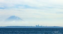 Mt. Rainier and Seattle