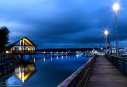 Night Falls on the Marina