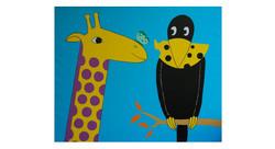 Le corbeau et la girafe