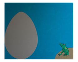 La grenouille et l'oeuf