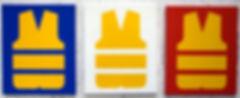 Gilets jaunes - Triptyque