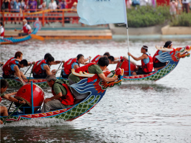 端午節 [Duān Wǔ Jié] - Фестивалът на драконовите лодки