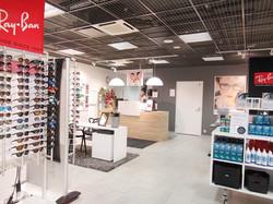 Keskusoptiikka Hyvinkää myymälä. Pri