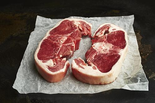 Double Loin Lamb Chops 2 x 220g