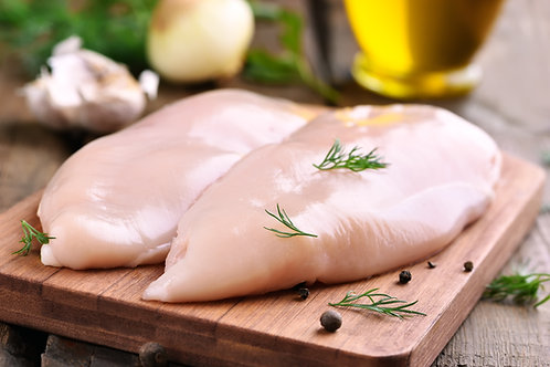 Skinless Chicken Breasts x 2
