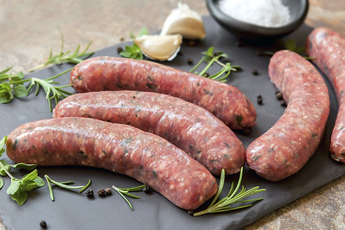 Old English Sausages x 6