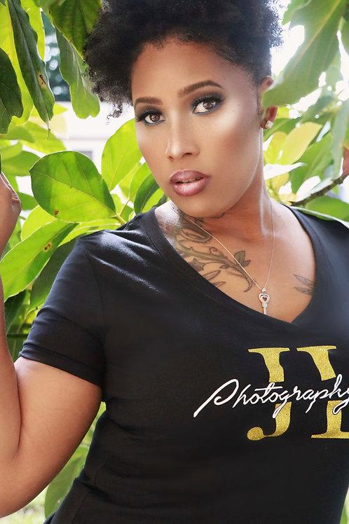 Photography By JL T-Shirts (Black)