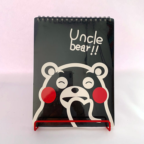 Croquera Uncle Bear!