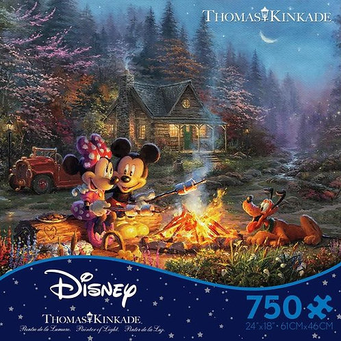 PUZZLE MICKEY Y MINNIE SWEETHEART FIRE