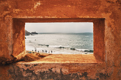 s´fotostudio by Dominik Somweber_Orange Frame to the Sea