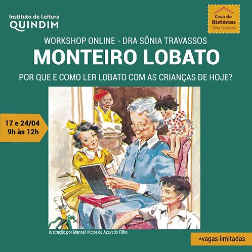 Workshop Por que e como ler Lobato com as crianças de hoje? com Sônia Travassos