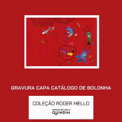Gravura Capa do Catálogo Feira Internacional de Ilustração de Bolonha