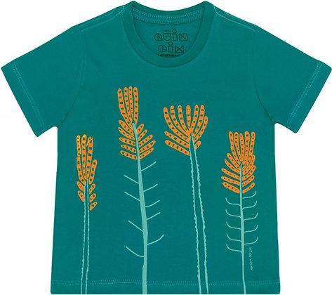 Camiseta de meia malha eufórbias