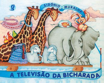 A televisão da bicharada (Sidónio Muralha e Cláudia Scatamacchia)