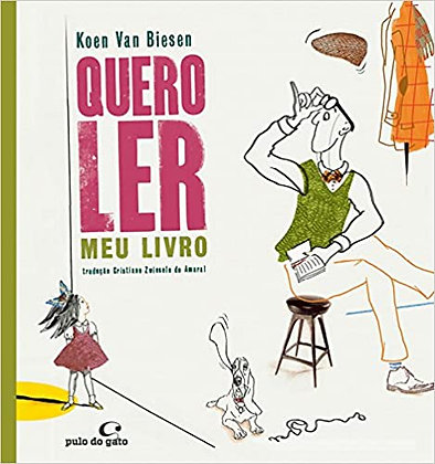 Quero ler meu livro (Koen van Biesen)