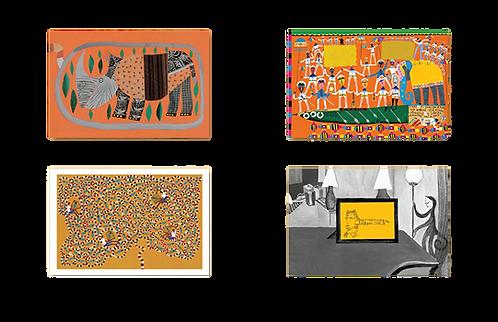 Conjunto de Cartões Postais - Coleção Roger Mello