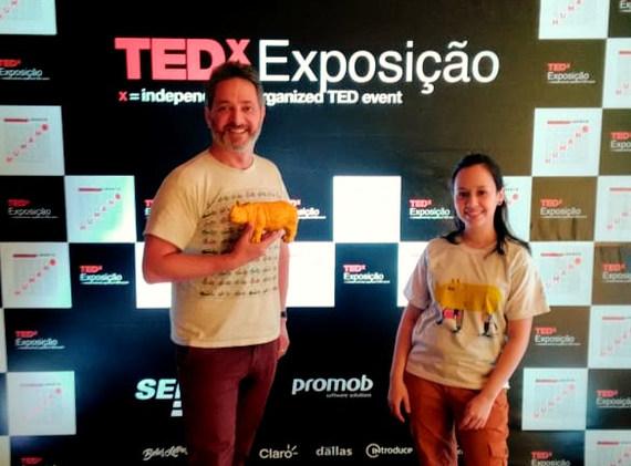 PARTICIPAÇÃO NO TED EVENT